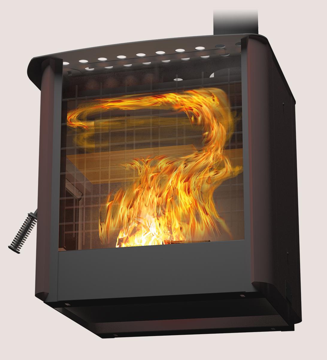 Печь отопительная «Теплодар Мильна-100»