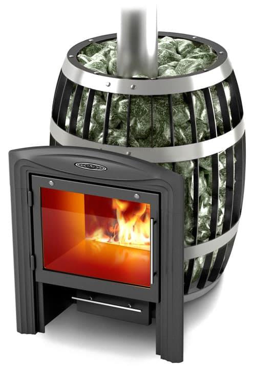 Банная печь-сетка «ТМF Саяны Inox витра»