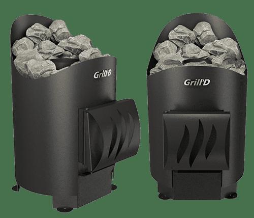 Банная печь Grill'D Aurora mini Short
