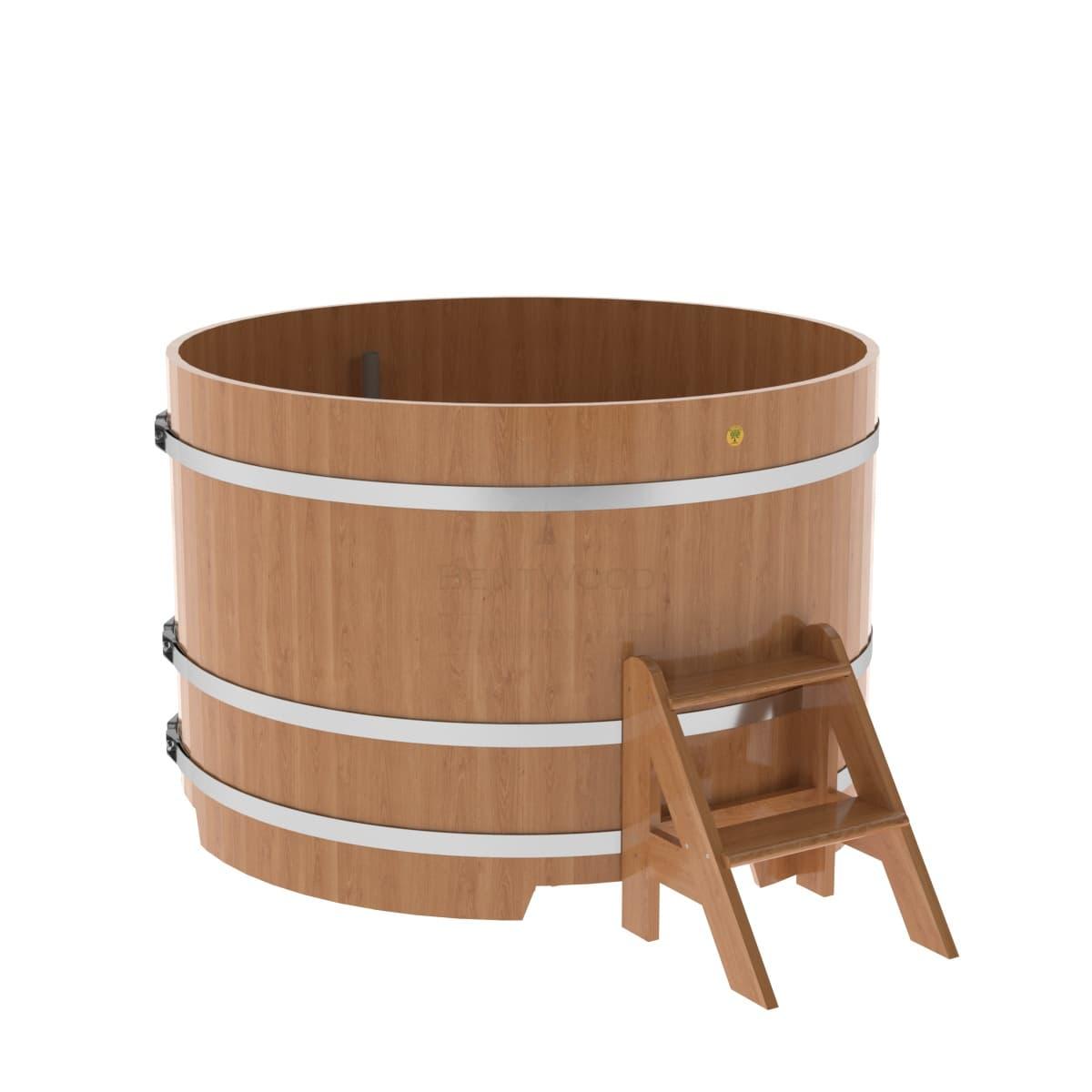 Купель круглая из дуба BentWood D=1,50