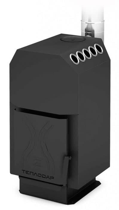 Печь отопительная «Теплодар ТОП-модель-200 со стальной дверцей»