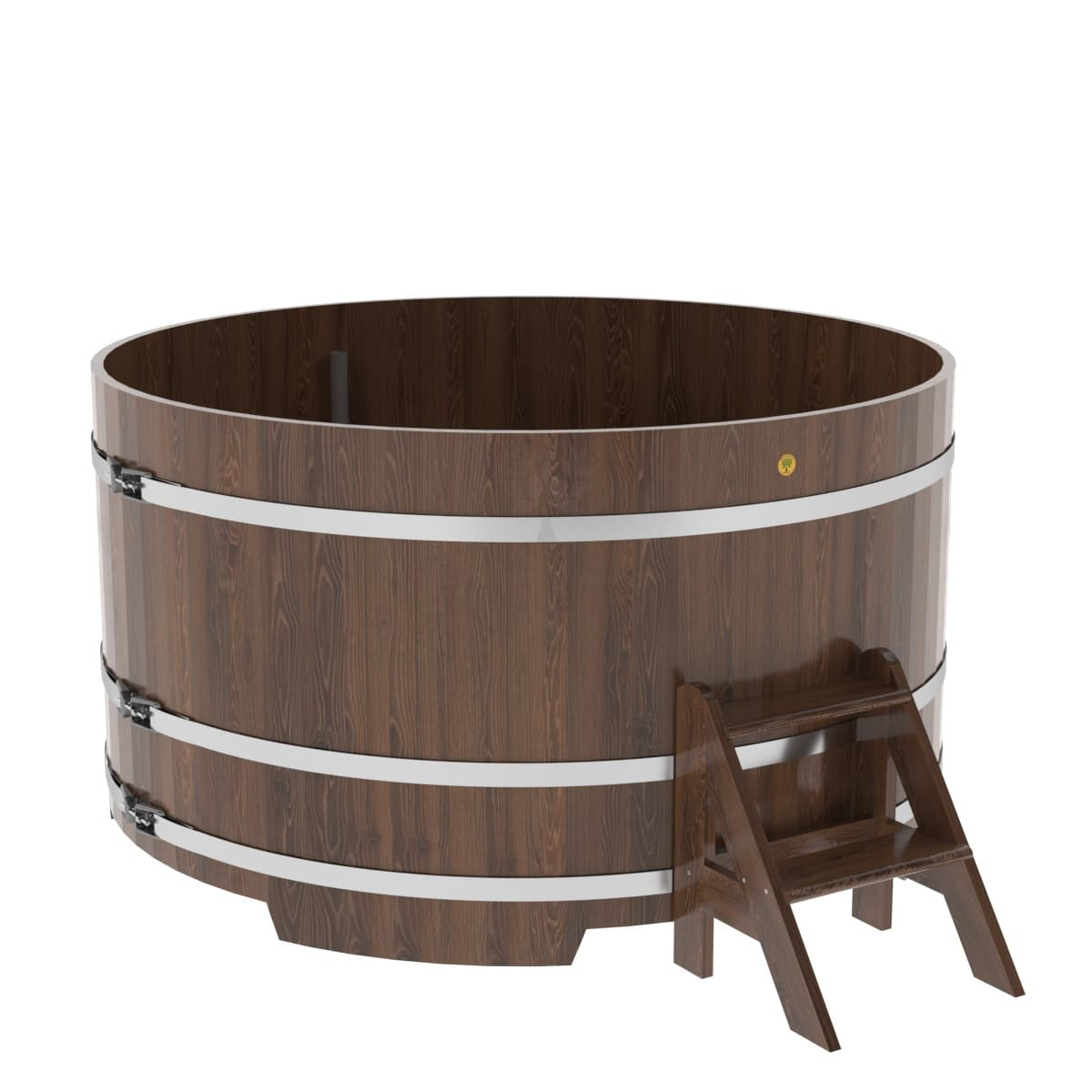Купель круглая из дуба BentWood D=1,80