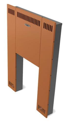 Экран фронтальный «ТMF мини Витра» панорамная дверца, терракота