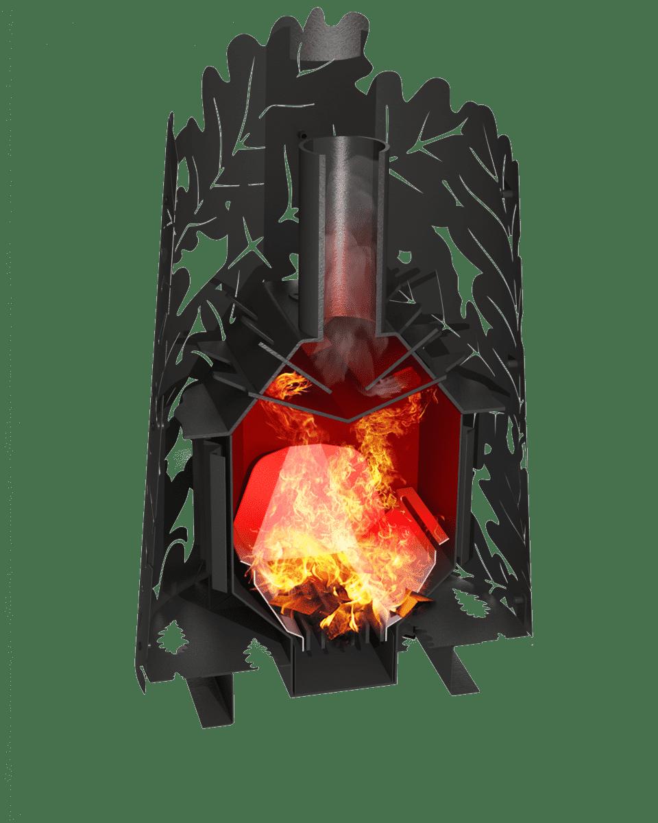 Банная печь Grill'D Dubravo 180 Window