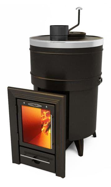 Банная печь-кондиционер «ТМF Скоропарка 2012 Inox Люмина» черная бронза