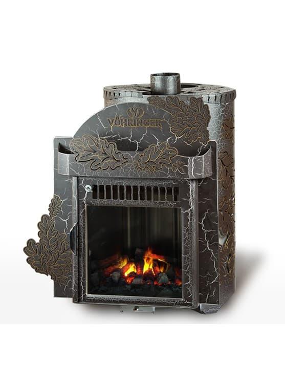 Печь для бани Ферингер Классика 'До 23 м³' - Экран (Дуб) - Антик
