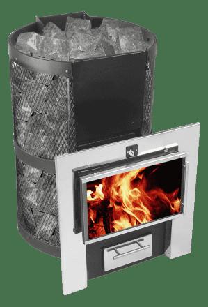 Банная печь «Конвектика Кольчуга 14-18»ПДПНС