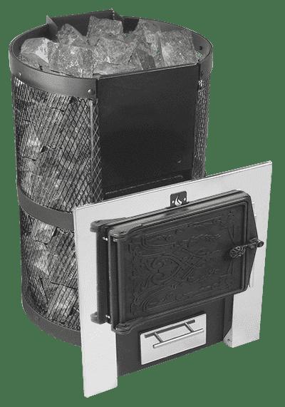 Банная печь «Конвектика Кольчуга 9-14» ЧДСНС