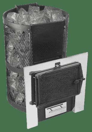 Банная печь «Конвектика Кольчуга 9-14» ЧДНС