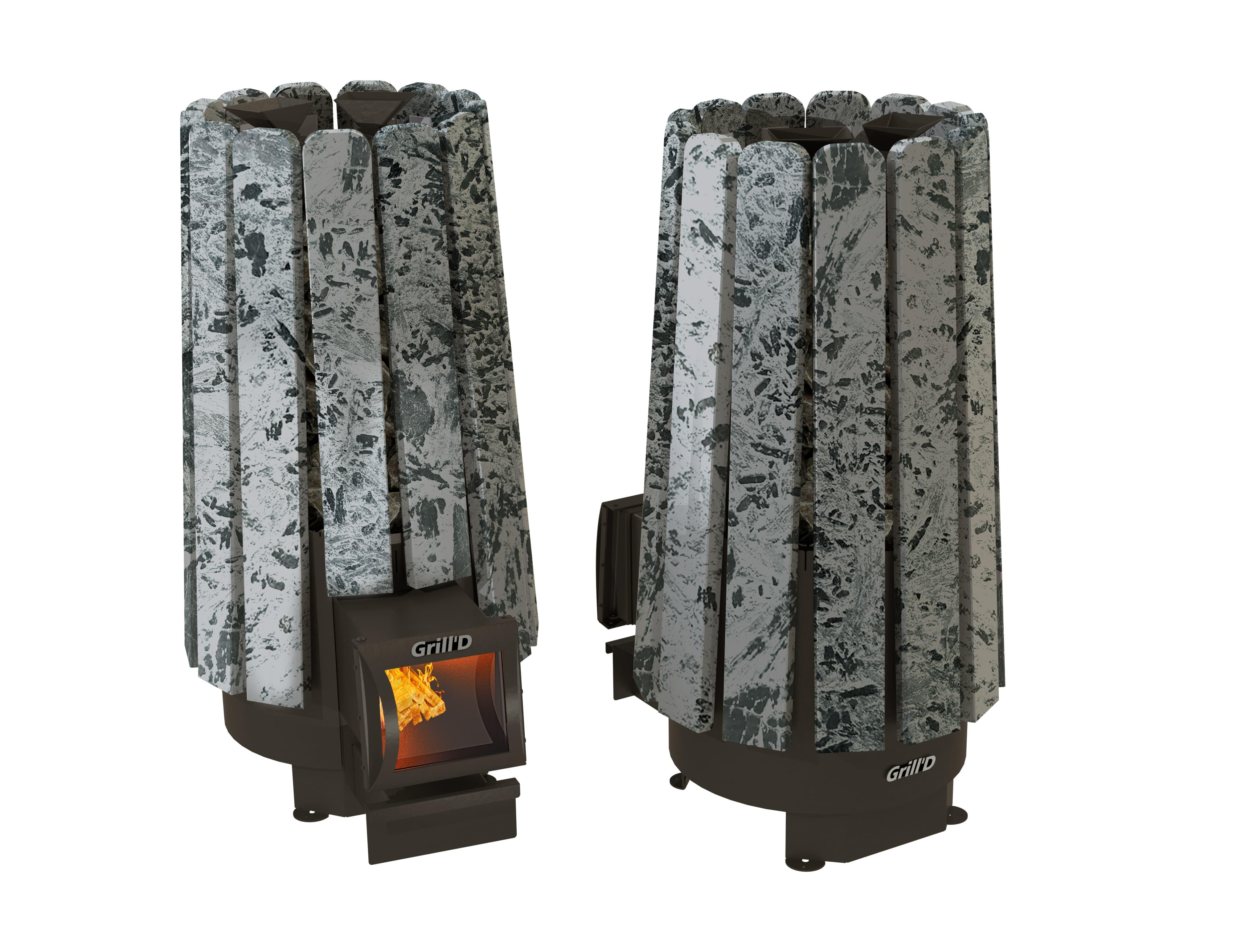 Банная печь Grill'D Cometa 180 Vega Long Stone