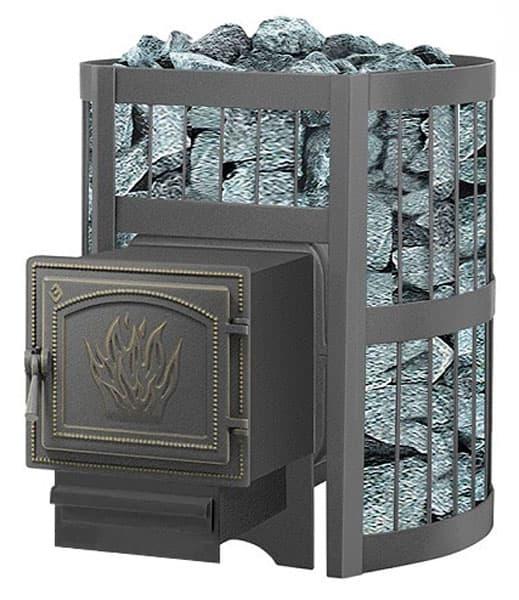 Банная печь чугунная «Везувий Легенда Стандарт 12» (261)