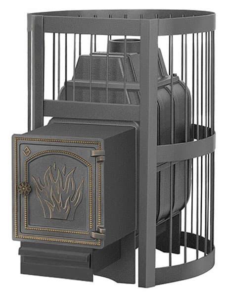 Банная печь чугунная «Везувий Легенда Стандарт 28» (ДТ-4)