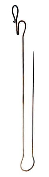 Шампур кованый двойной