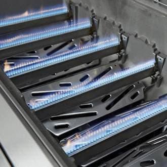 Гриль газовый Weber Genesis II LX S-640 GBS нерж. сталь