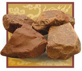 Камень для бани и сауны яшма сургучная (ведро 10 кг)