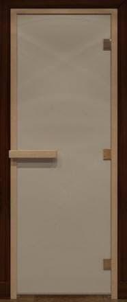 Дверь 1900х700 стекло сатин