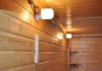 АКЦИЯ! Светильник для бани и сауны Lindner прямой