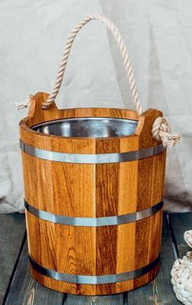 Запарник Woodson дуб, нержавеющая вставка, 20 л