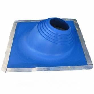 Уплотнитель кровельных проходов Master Flash №2 угловой, cиликон «Профи», синий