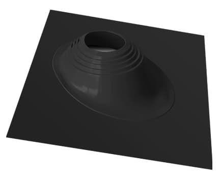 Уплотнитель кровельных проходов Master Flash №2 угловой, окрашенный, черный