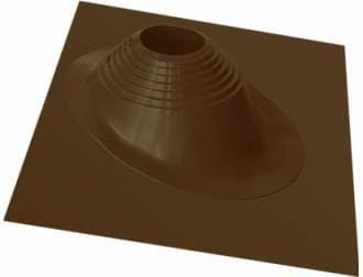 Уплотнитель кровельных проходов Master Flash №2 угловой, окрашенный, коричневый