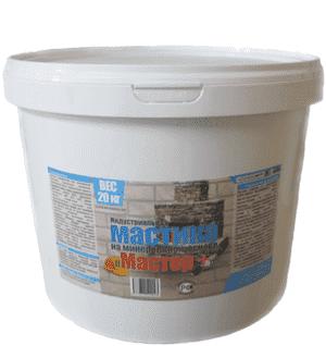 Мастика на минеральной основе Мастер +, 2 кг
