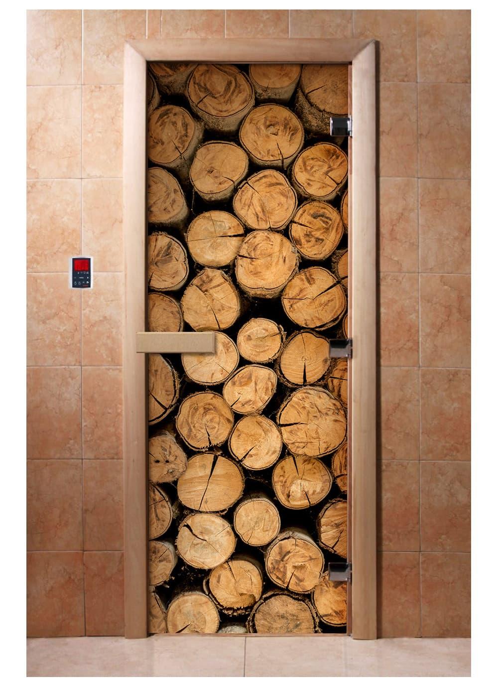 Дверь с фотопечатью A046