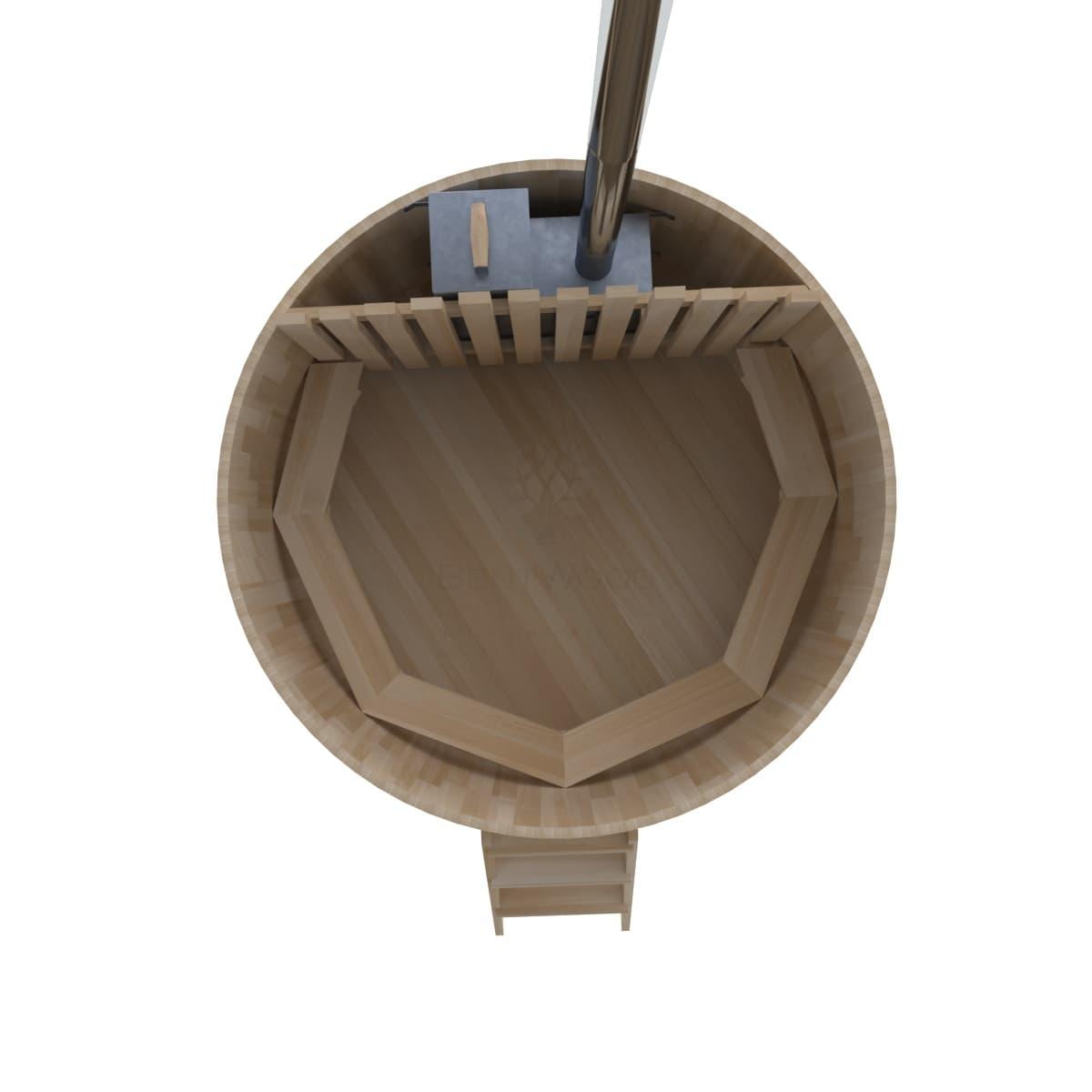 Фурако из кедра BentWood Премиум D=2.1 с внутренней печкой
