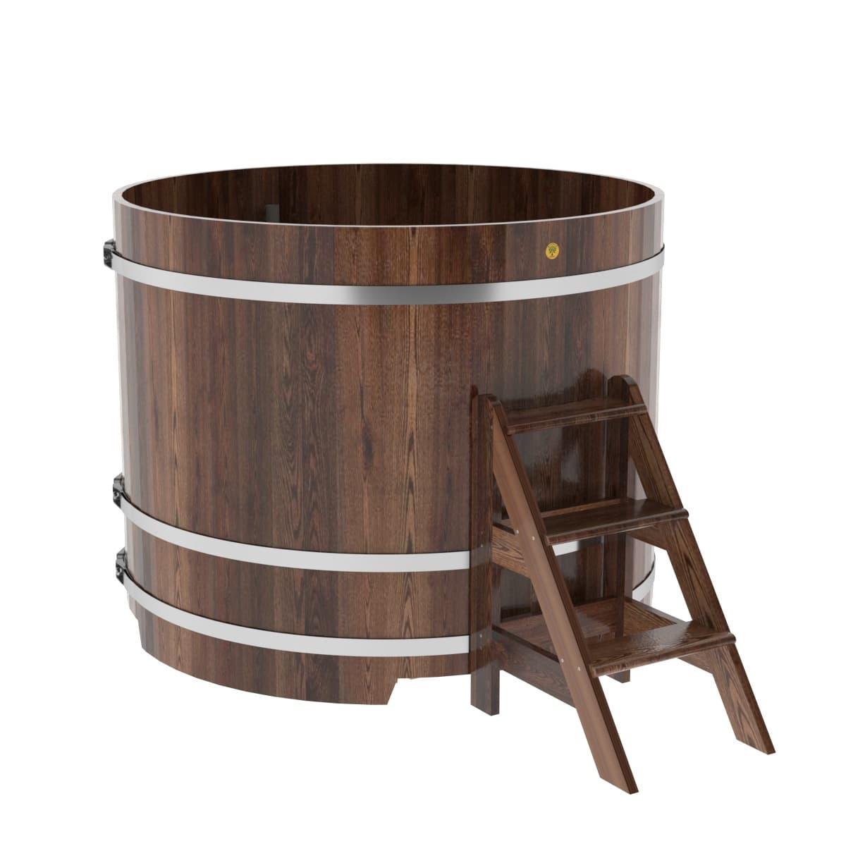 Купель круглая из лиственницы BentWood D=1,50