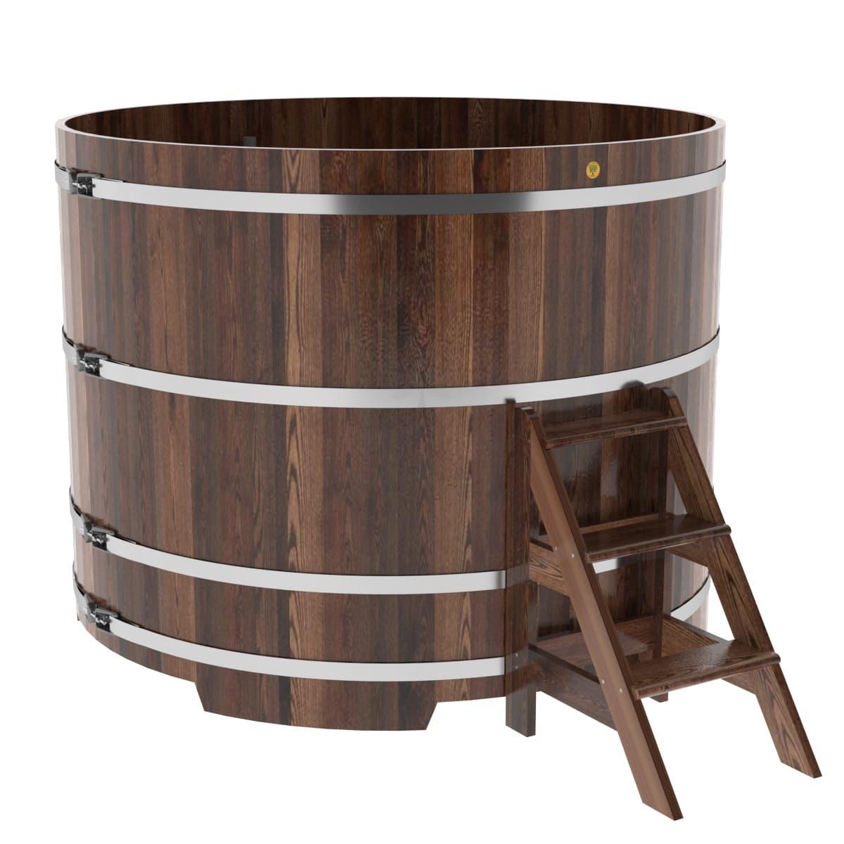 Купель круглая из лиственницы BentWood D=1,80