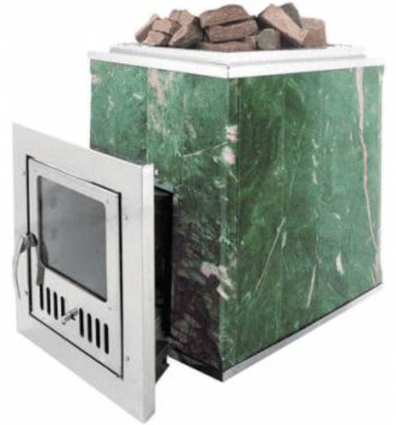 Банная печь ВВД «Калита» в змеевике с открытой каменкой
