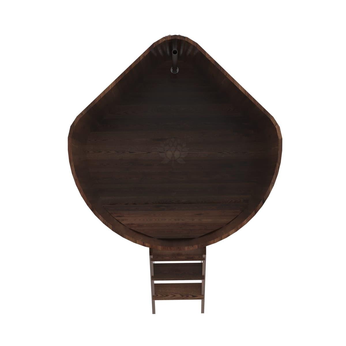 Купель угловая из лиственницы BentWood 1,53Х1,53