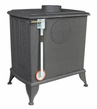 Печь-камин чугунная Kratki Koza K6 (термостат)