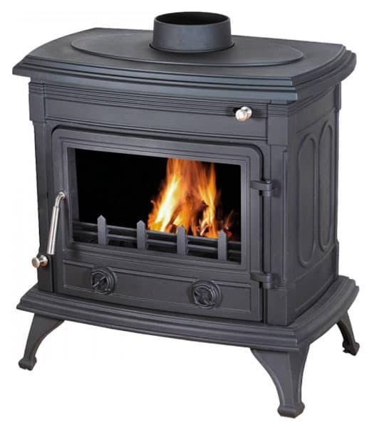 Печь-камин чугунная LK Asti Boiler
