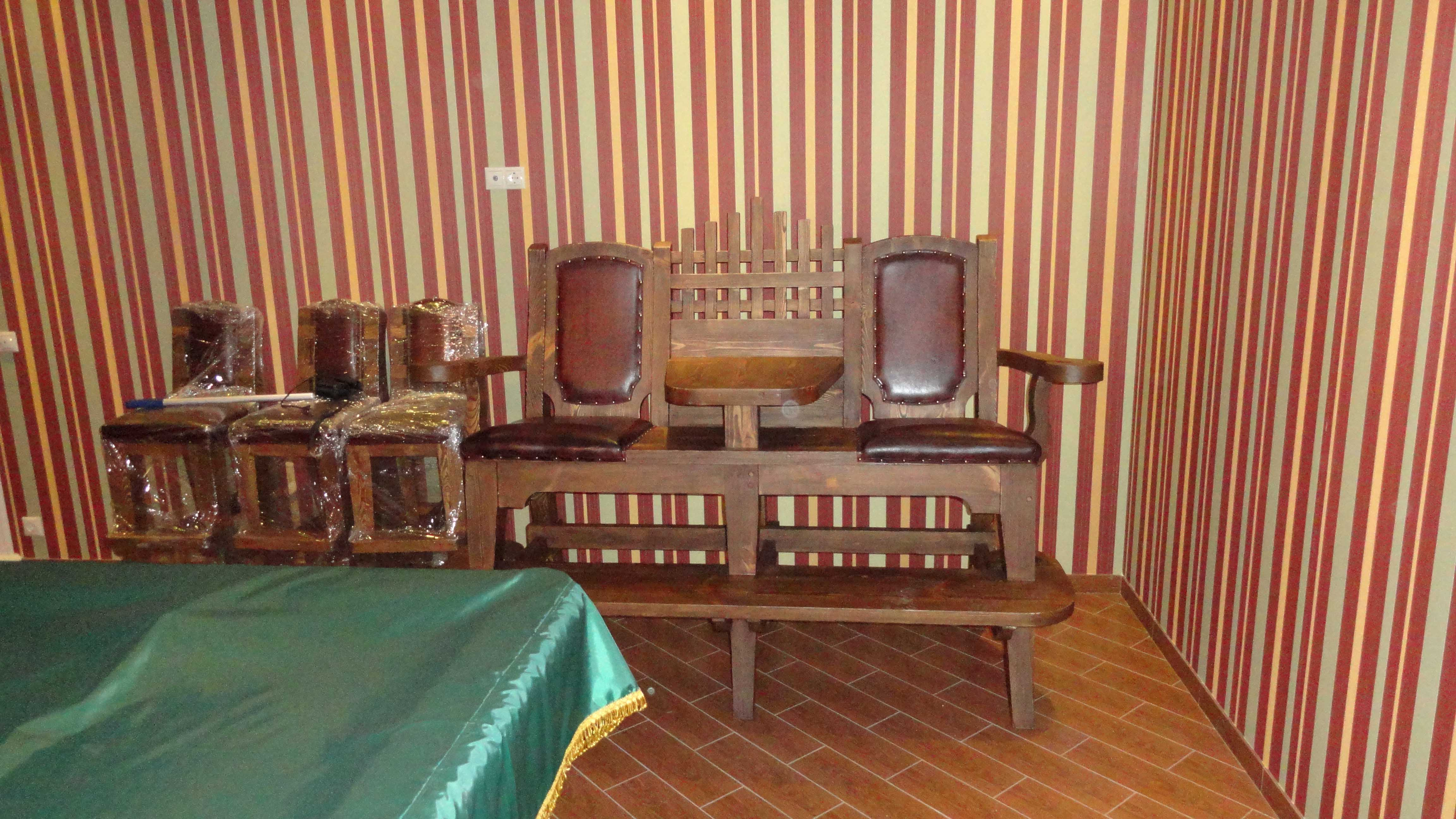 Кресло бильярдное «Атос»