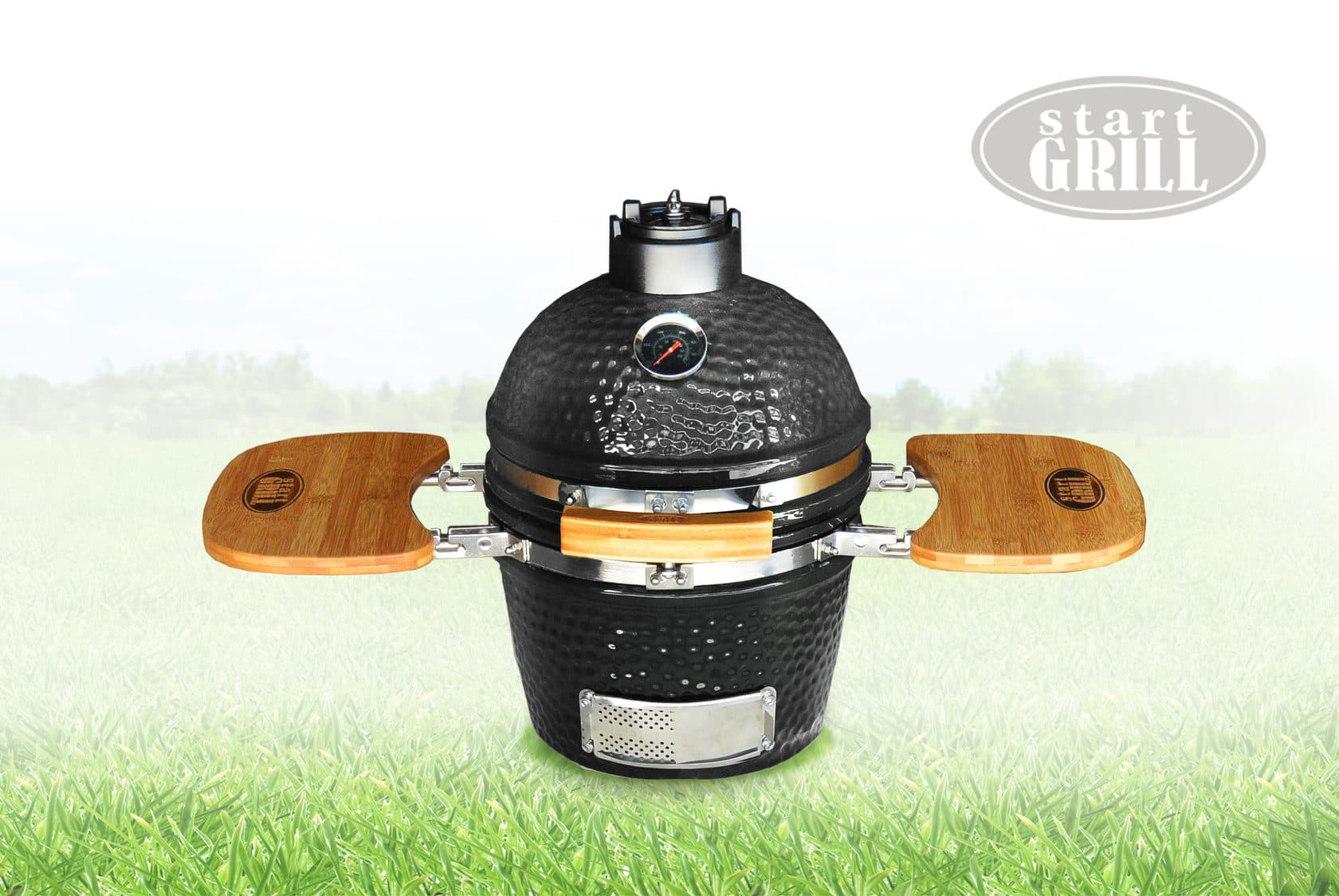 Керамический гриль Start Grill 12 дюймов