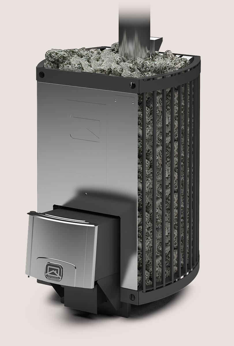 Банная печь «Теплодар Домна-Сетка-20 ЛК»