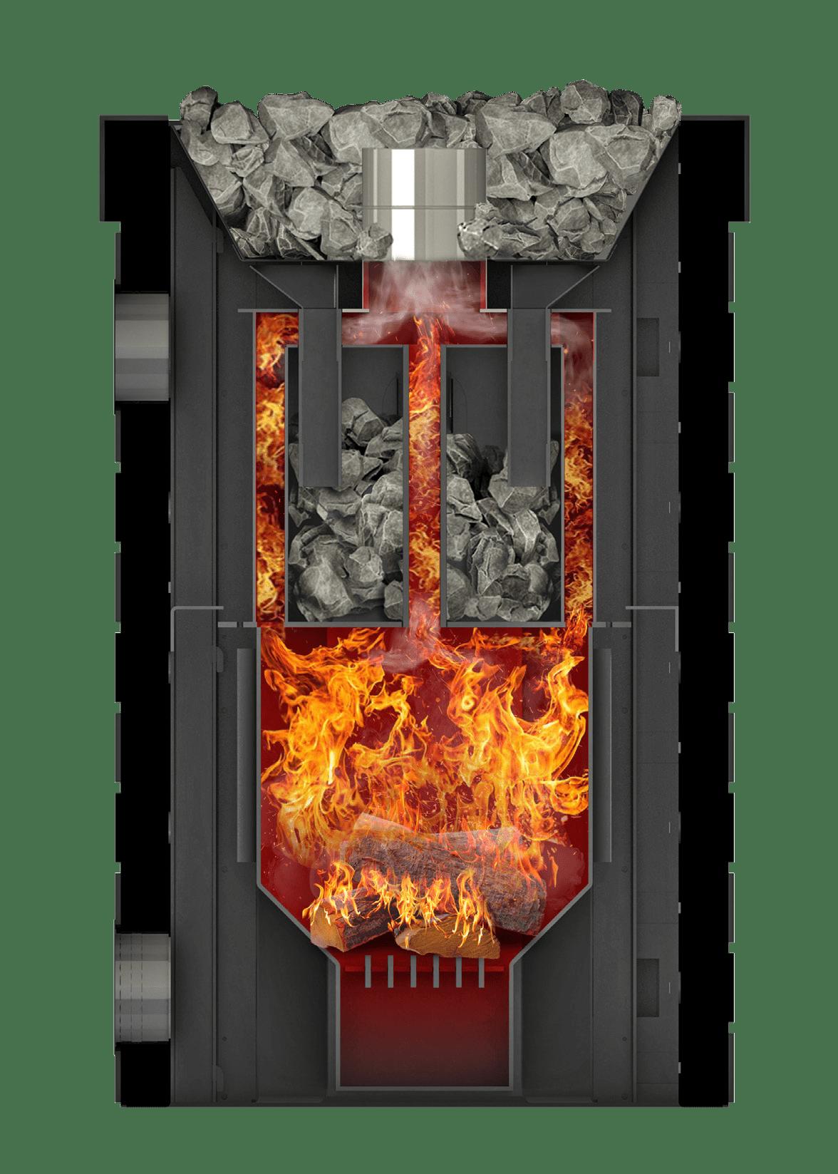 Банная печь Grill'D Retro Long
