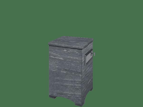 Банная печь TULIKIVI S малая закрытая облицовка с дверцей сбоку S