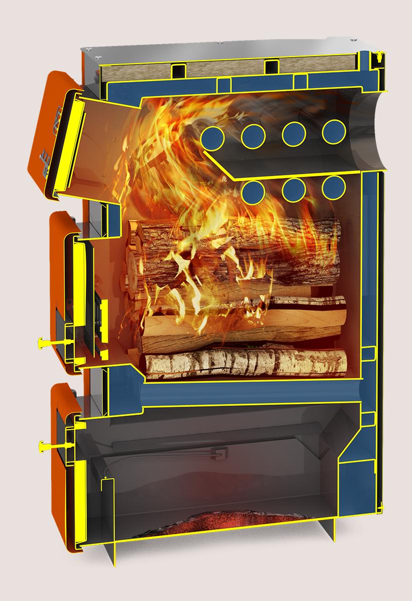 Отопительный котел «Теплодар Куппер ПРО-16 (2.0)»
