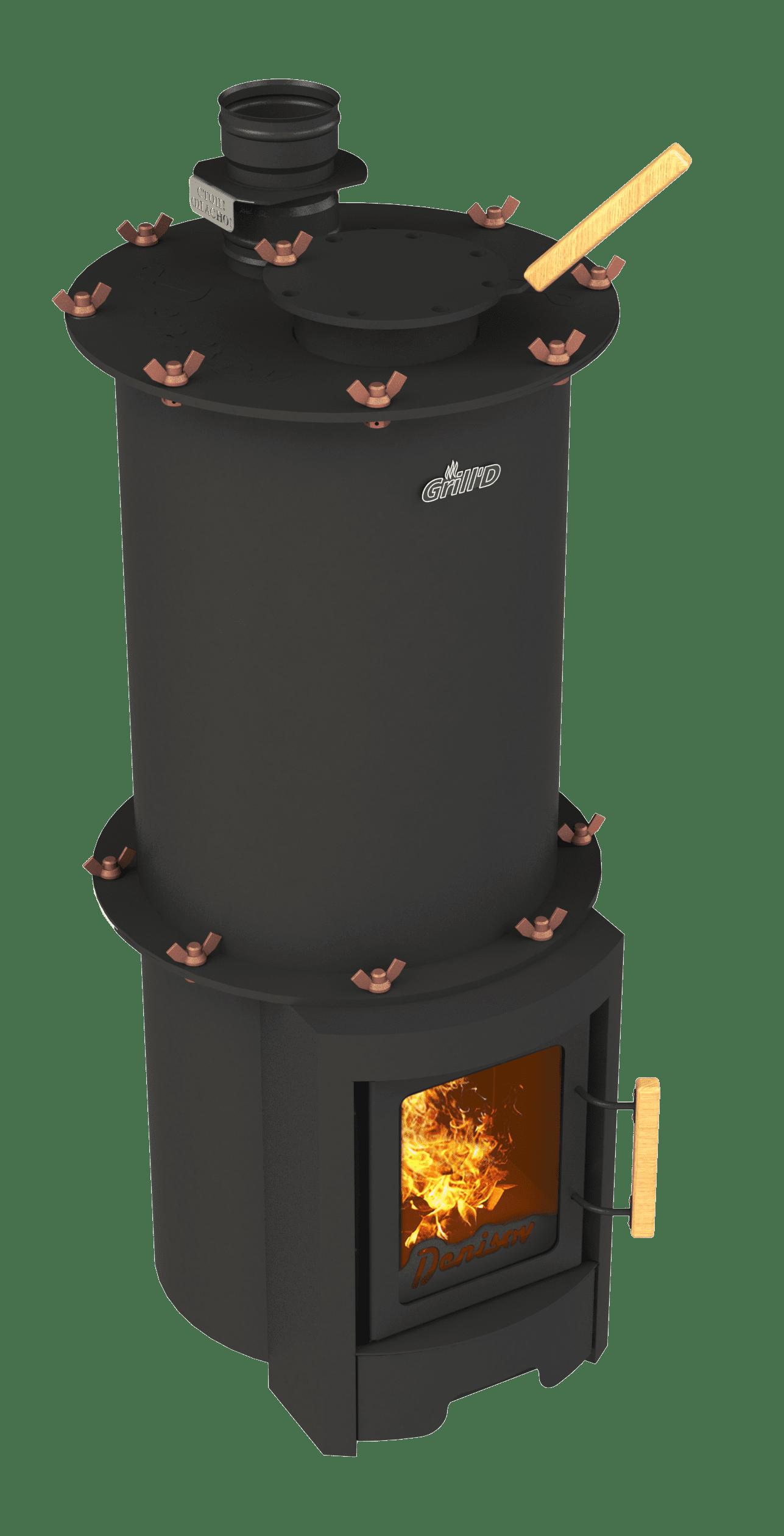 Банная печь Grill'D Denisov Short