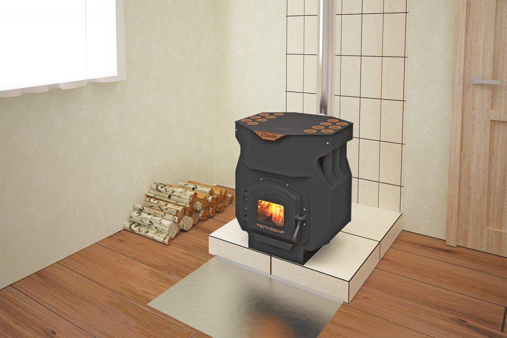 Печь отопительно-варочная «Теплодар ТОП-драйв-150»