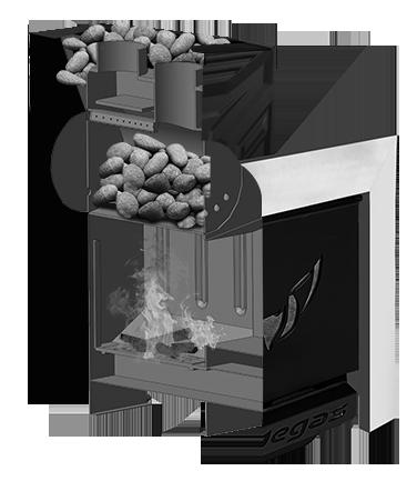 Банная печь ПЕГАС 26 конвекция