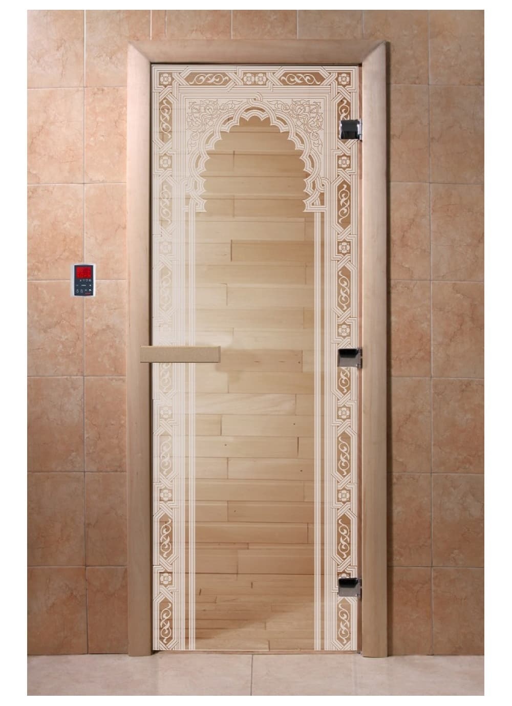 """Дверь """"Восточная арка прозрачная"""""""