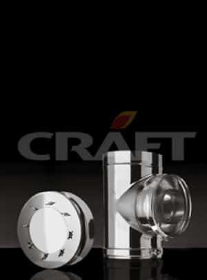 CRAFT Взрывной клапан, 0,5 зеркало, изоляция 50мм