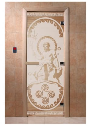 """Дверь """"Посейдон сатин"""""""