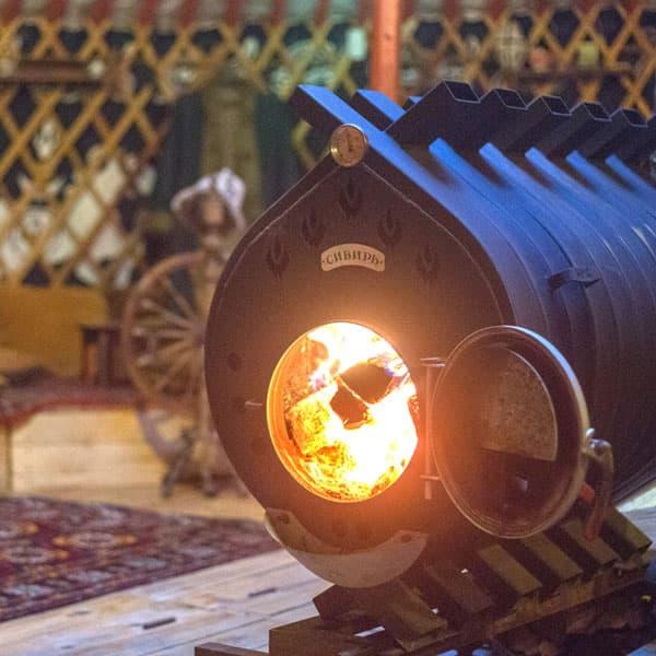 Печь воздухогрейная Сибирь БВ-720