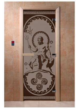 """Дверь """"Посейдон черный жемчуг матовая"""""""