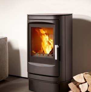 Печь камин Varde Fuego 2, черный