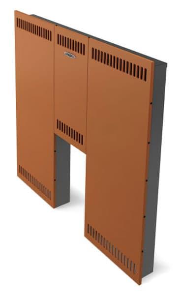 Экран фронтальный «ТMF стандарт» стандартная дверца, терракота